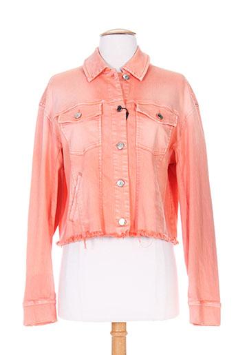 sportmax vestes femme de couleur orange