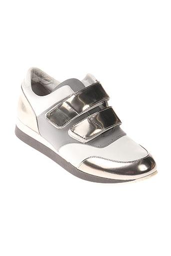 maxmara chaussures femme de couleur gris