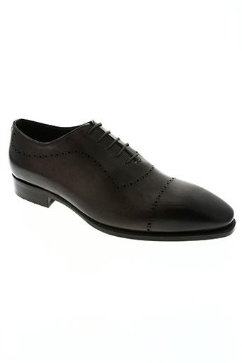 izac chaussures homme de couleur marron