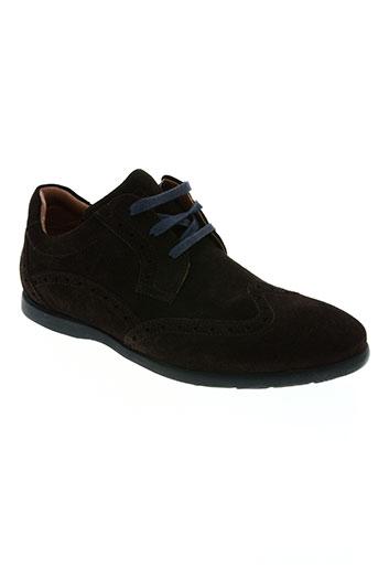eden park chaussures homme de couleur marron