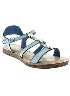 Sandales/Nu pieds bleu DELIRES DE FILLE pour femme