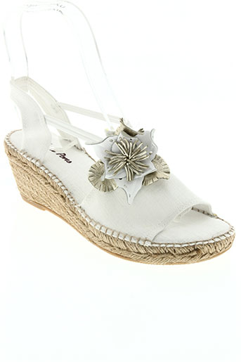 toni pons chaussures femme de couleur blanc