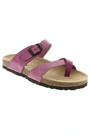 bertuchi chaussures femme de couleur rose