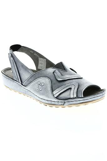 maciejka obuwie chaussures femme de couleur bleu