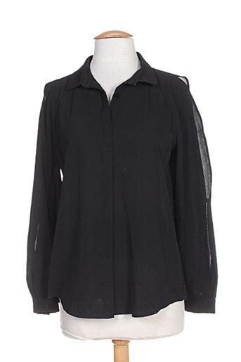 amz chemises femme de couleur noir