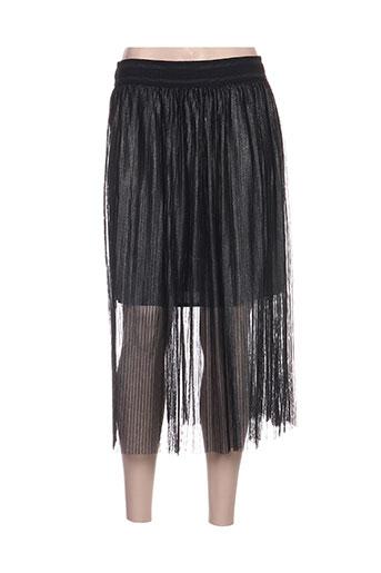 amz jupes femme de couleur noir