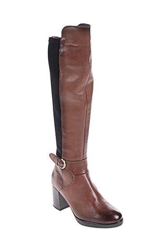 cafe noir chaussures femme de couleur marron