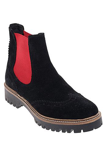 morena gabbrielli chaussures femme de couleur noir