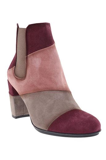 hispanitas chaussures femme de couleur rose