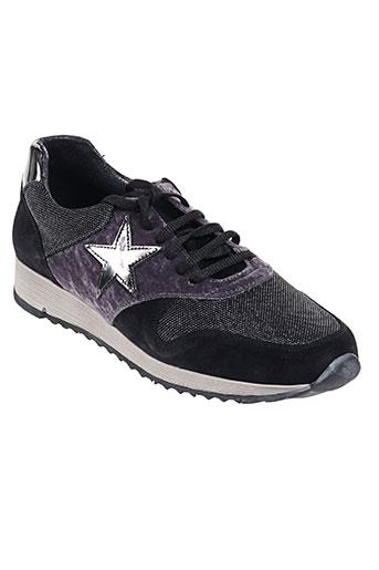 coco et abricot chaussures femme de couleur violet