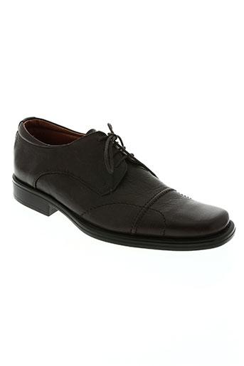 edito chaussures homme de couleur marron