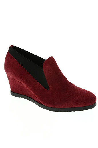 the flexx chaussures femme de couleur rouge