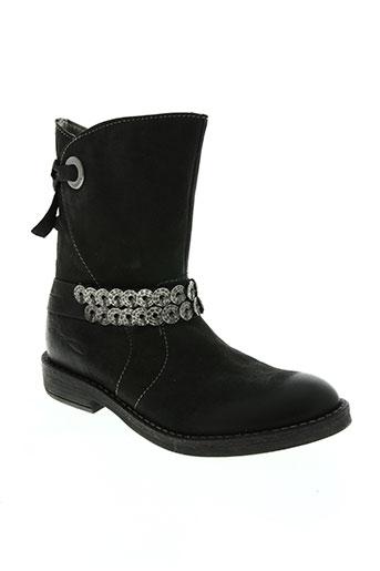 noël chaussures fille de couleur noir