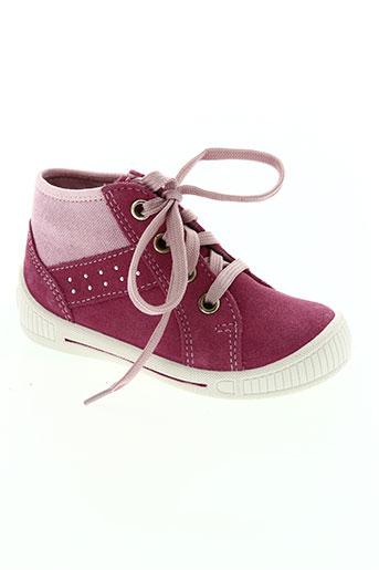 super fit chaussures fille de couleur rose