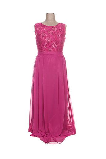 juju & christine robes femme de couleur rose