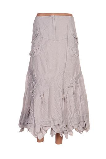 l33 jupes femme de couleur gris