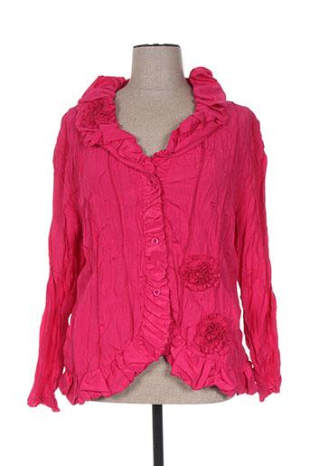l33 vestes femme de couleur violet