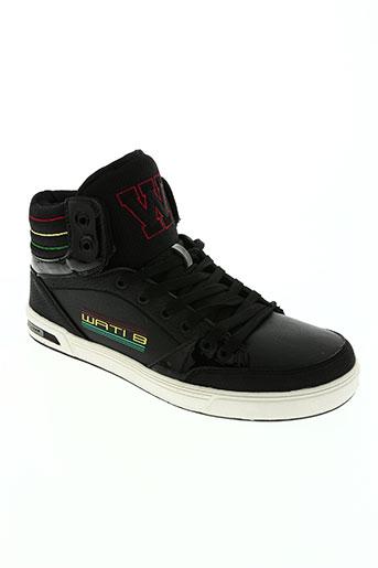 wati b chaussures homme de couleur noir