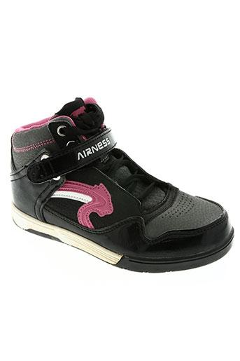 airness chaussures fille de couleur noir