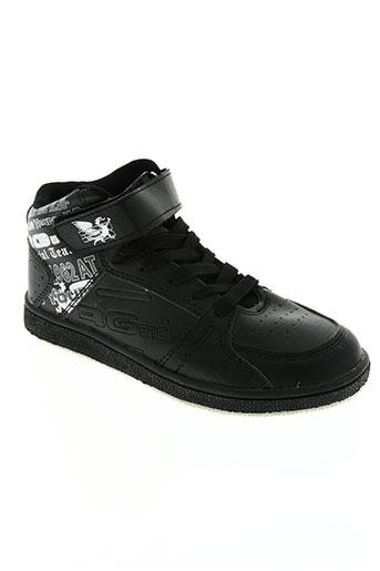 rg512 chaussures garçon de couleur noir
