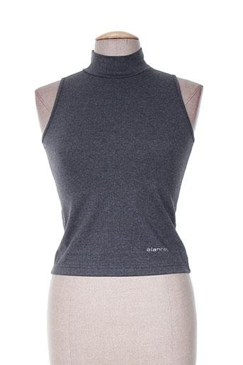 alan red t-shirts femme de couleur gris