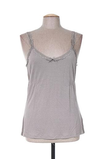 ddp chemises femme de couleur gris