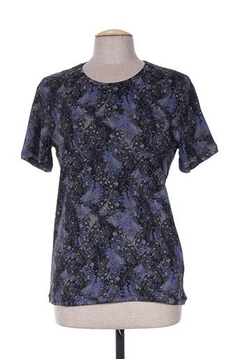 T-shirt manches courtes noir ELEVEN pour femme