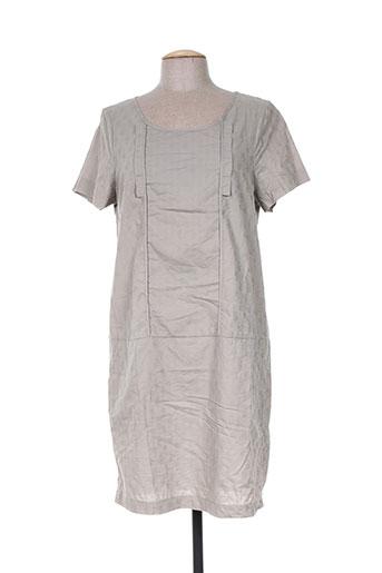 acoté robes femme de couleur gris