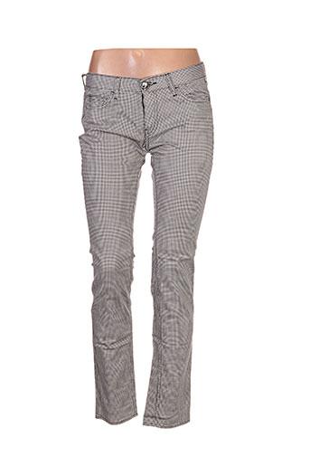 lord richards pantalons femme de couleur gris