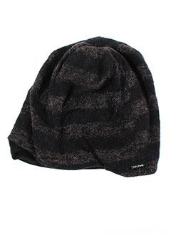 Bonnet noir ANNE TURTAUT pour femme