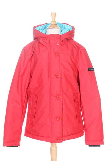 brekka manteaux femme de couleur rouge