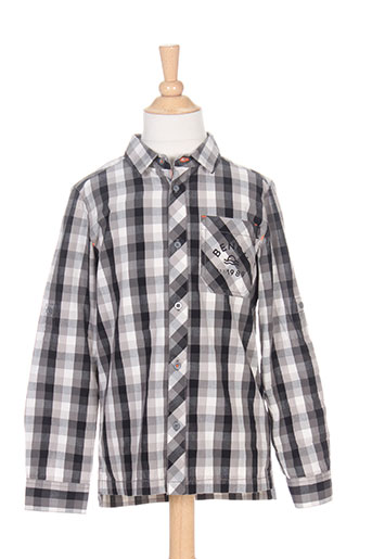 bench chemises garçon de couleur gris