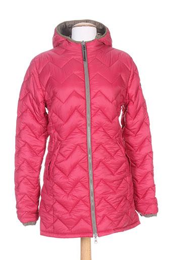brekka manteaux femme de couleur rose