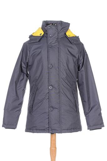 brekka manteaux homme de couleur gris