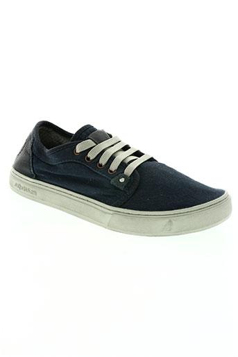 satorisan chaussures homme de couleur bleu