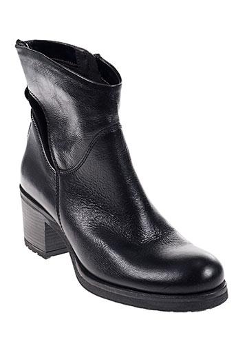 cafe noir chaussures femme de couleur noir