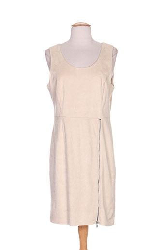 Robe courte beige VILA pour femme