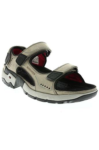 allrounder chaussures homme de couleur gris
