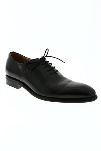 berwick chaussures homme de couleur noir