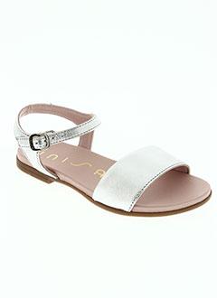 Sandales/Nu pieds gris UNISA pour fille