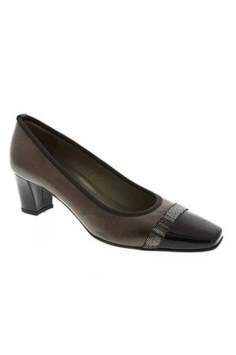 brenda zaro chaussures femme de couleur marron