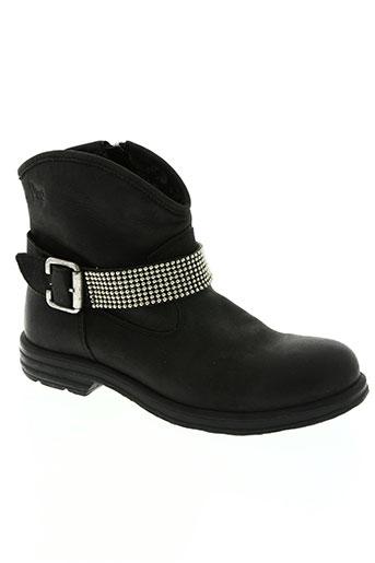 primigi chaussures fille de couleur noir