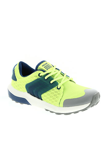geox chaussures garçon de couleur jaune