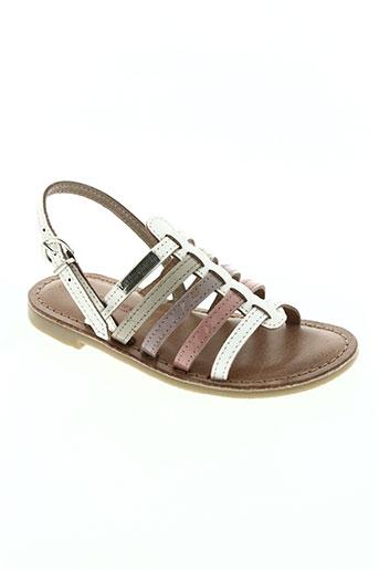 les tropeziennes par m.belarbi chaussures fille de couleur rose