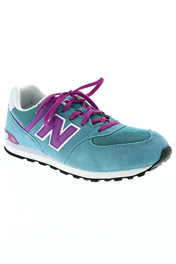 new balance chaussures unisexe de couleur bleu