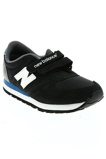 new balance chaussures garçon de couleur noir