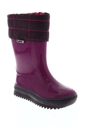 romika chaussures fille de couleur rose