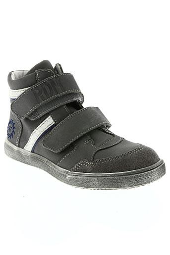 ramdam chaussures garçon de couleur gris