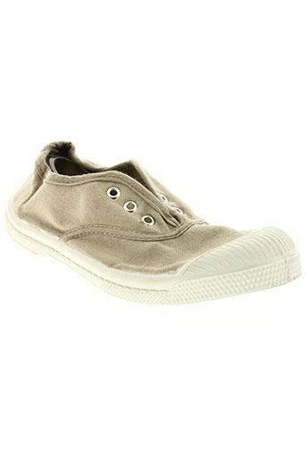 bensimon chaussures enfant de couleur beige