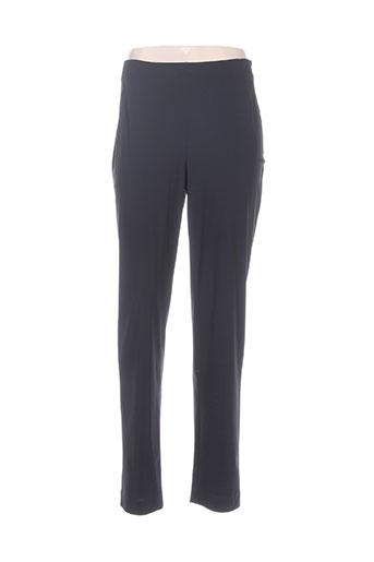 elemente clemente pantalons femme de couleur bleu